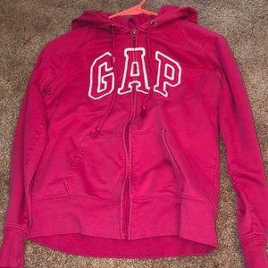 Hot pink gap jacket